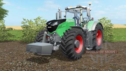 Fendt 1038-1050 Vario with weight für Farming Simulator 2017