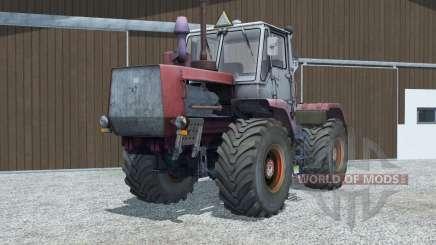 T-150K mäßig rot für Farming Simulator 2013