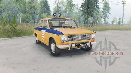 VAZ-Lada 2101 GAI URSS pour Spin Tires