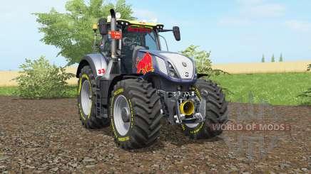 New Holland T7.290 Rot Rikiᶒ für Farming Simulator 2017