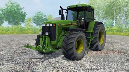 John Deere 8410 slimy green pour Farming Simulator 2013