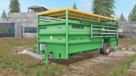 Joskin Betimax RDS 6000 jade für Farming Simulator 2017
