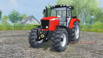 Massey Ferguson 5475 red pour Farming Simulator 2013