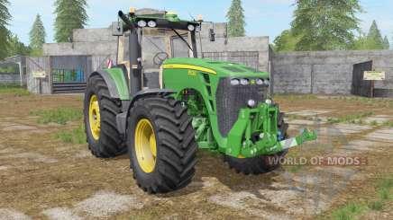 John Deere 8530 dark pastel green pour Farming Simulator 2017