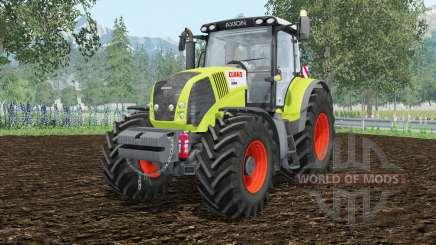 Claas Axion 850 zusätzliche weightᶊ für Farming Simulator 2015