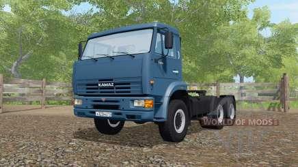 KamAZ-65116 dunkel blau für Farming Simulator 2017