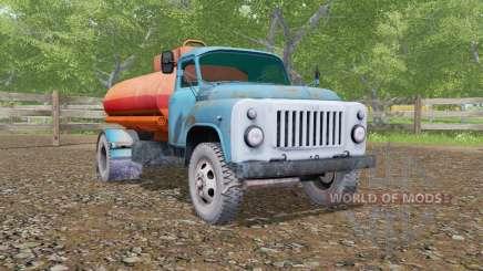 GAZ-53 truck für Farming Simulator 2017