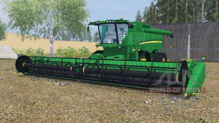 John Deere S670&S680 dartmouth green für Farming Simulator 2013