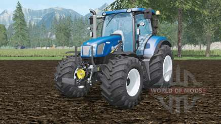 New Holland T6.160 BluePoweɽ für Farming Simulator 2015