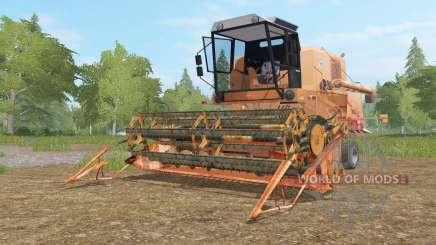 Bizon Super Z056 tan hide pour Farming Simulator 2017