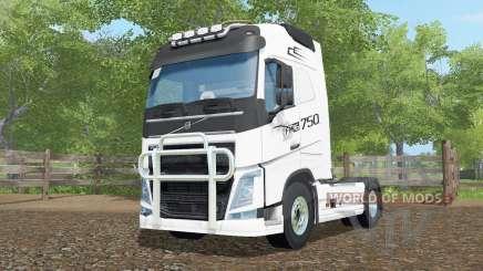 Volvo FH16 750 Globetrotter cab pour Farming Simulator 2017