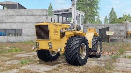 Raba-Steiger 250 indian yellow pour Farming Simulator 2017