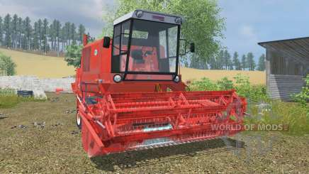 Bizon Super Z056 coral red für Farming Simulator 2013