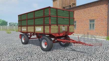 Krone Emsland hunter green pour Farming Simulator 2013