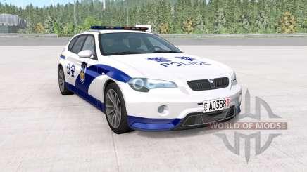 ETK 800-Series Chinese Police für BeamNG Drive