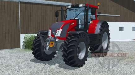 Valtra N163 bright red für Farming Simulator 2013