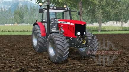 Massey Ferguson 6480 double wheels für Farming Simulator 2015