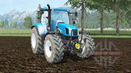 New Holland T6.140 front loader für Farming Simulator 2015