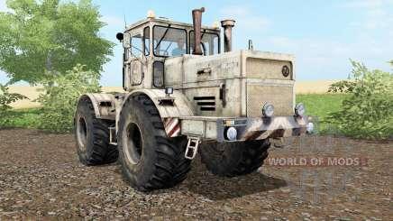 Kirovets K-701 de la poussière et des traces de roues pour Farming Simulator 2017