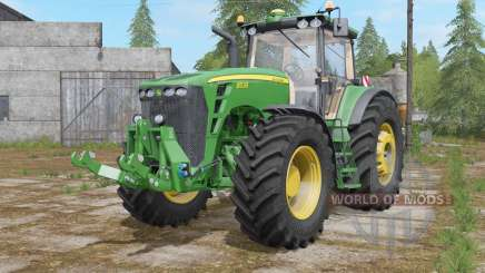 John Deere 8530 fully washable pour Farming Simulator 2017