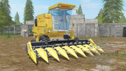 New Holland Clayson 8070 minion yellow für Farming Simulator 2017