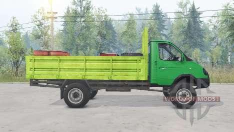 GAZ-33104 Valdai für Spin Tires