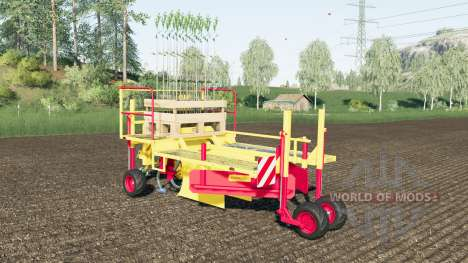 Damcon PL-75 sixty tree saplings pallets pour Farming Simulator 2017