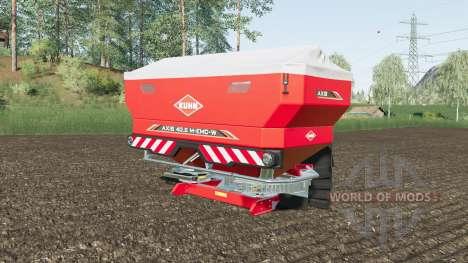 Kuhn Axis 40.2 M-EMC-W added lime pour Farming Simulator 2017