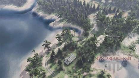 Das Dorf der Holzfäller für Spin Tires