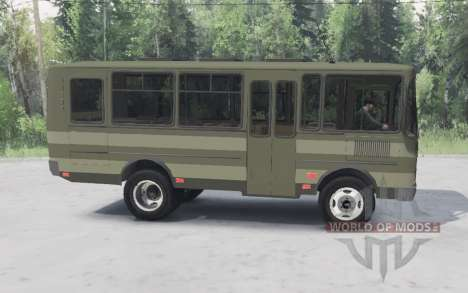 PAZ-3205 für Spin Tires