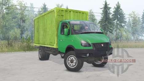 GAZ-33104 Valdaï pour Spin Tires