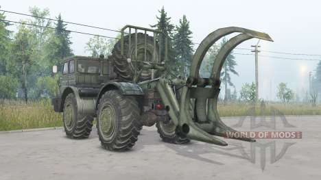 MoAZ-74111 4x4 für Spin Tires