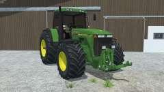 John Deere 8110 left door opens für Farming Simulator 2013