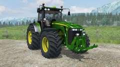 John Deere 8530 MoreRealistic für Farming Simulator 2013