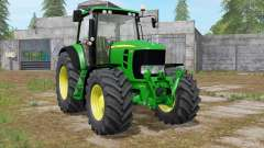 John Deere 7430 Premium animated display pour Farming Simulator 2017