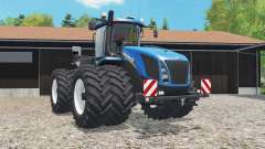 New Holland T9.565 added dual wheels pour Farming Simulator 2015
