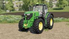 John Deere 6R-series with SeatCam für Farming Simulator 2017