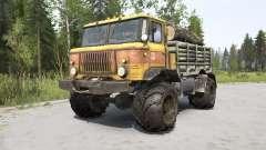 GAZ-66 orange pour MudRunner