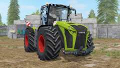Claas Xerion 5000 Trac VC wipers animation pour Farming Simulator 2017