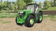 John Deere 7R-series added new front rims pour Farming Simulator 2017