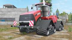 Case IH Steiger 1000 Quadtrac Red Baron für Farming Simulator 2017