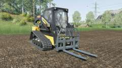 New Holland C232 with attachment weight pour Farming Simulator 2017
