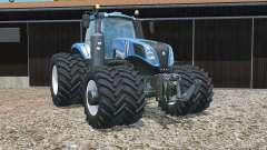 New Holland T8.320 zwillingsbereifunǥ für Farming Simulator 2015