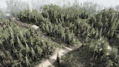 Une crête des arbres morts pour MudRunner
