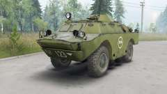 BRDM-2 dark ninasimone vert pour Spin Tires
