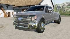 Ford F-450 Super Duty Platinum Crew Cab 2017 pour Farming Simulator 2017