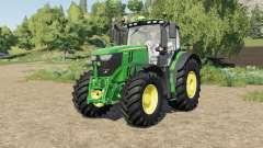 John Deere 6R-series tire selection für Farming Simulator 2017