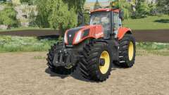 New Holland T8-series Trelleborg Terra tires für Farming Simulator 2017