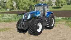 New Holland T8-series new engine configuration pour Farming Simulator 2017