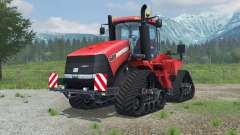 Case IH Steiger 600 Quadtrac license plate pour Farming Simulator 2013